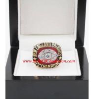 1985 New England Patriots America Football Conference Championship Ring, Custom New England Patriots Champions Ring