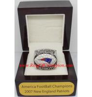 2007 New England Patriots America Football Conference Championship Ring, Custom New England Patriots Champions Ring
