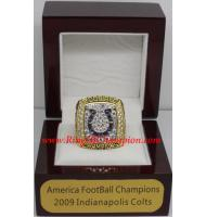 2009 Indianapolis Colts America Football Conference Championship Ring, Custom Indianapolis Colts Champions Ring
