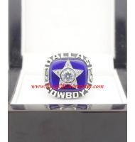 1975 Dallas Cowboys National Football Conference Championship Ring, Custom Dallas Cowboys Champions Ring