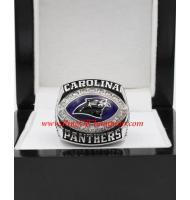 2003 Carolina Panthers National Football Conference Championship Ring (Stone Version)