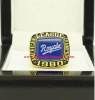 1980 Kansas City Royals America League Baseball Championship Ring, Custom Kansas City Royal Champions Ring