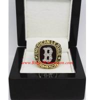 1986 Boston Red Sox National League Baseball Championship Ring, Custom Boston Red Sox Champions Ring