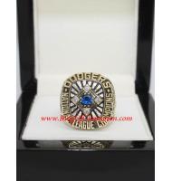 1977 Los Angeles Dodgers National League Baseball Championship Ring, Custom Los Angeles Dodgers Champions Ring
