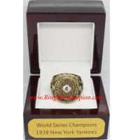 1938 New York Yankees World Series Championship Ring, Custom New York Yankees Champions Ring