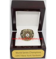 1947 New York Yankees World Series Championship Ring, Custom New York Yankees Champions Ring