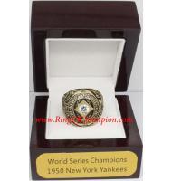 1950 New York Yankees World Series Championship Ring, Custom New York Yankees Champions Ring