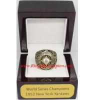 1952 New York Yankees World Series Championship Ring, Custom New York Yankees Champions Ring