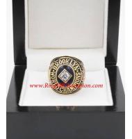 1955 Los Angeles Dodgers World Series Championship Ring, Custom Los Angeles Dodgers Champions Ring