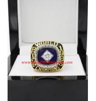 1985 Kansas City Royals World Series Championship Ring, Custom Kansas City Royals Champions Ring