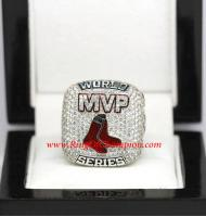 2013 Boston Red Sox MVP ORTIZ 3X World Series Championship Ring, Custom Boston Red Sox Ring