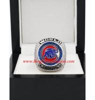 2016 Chicago Cubs World Series Championship FAN Ring, Custom Chicago Cubs Champions Ring
