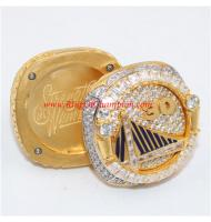 2018 Golden State Warriors Reversible Championship Ring, Twisting Off Top Warriors Ring