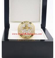 To Commemorate Kobe Bryant, 2020 Basketball Super Star Kobe Bryant Championship Ring