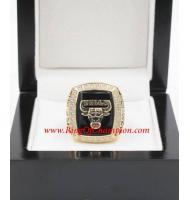 1990 - 1991 Chicago Bulls Basketball World Championship Ring, Custom Chicago Bulls Champions Ring