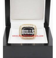 1991 - 1992 Chicago Bulls Basketball World Championship Ring, Custom Chicago Bulls Champions Ring