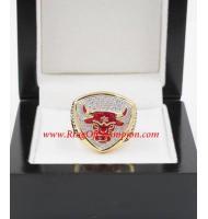 1992 - 1993 Chicago Bulls Basketball World Championship Ring, Custom Chicago Bulls Champions Ring