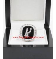 1998 - 1999 San Antonio Spurs Basketball World Championship Ring, Custom San Antonio Spurs Champions Ring