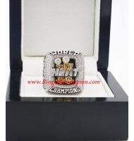 2012 - 2013 Miami Heat Basketball World Championship Ring, Custom Miami Heat Champions Ring