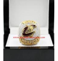 2015–2016 Cleveland Cavaliers Basketball Replica World Championship Ring, Custom Cleveland Cavaliers Ring