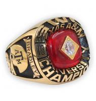 1985 Texas A&M Aggies Men's Football Cotton Bowl College Championship Ring