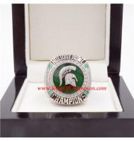 2017 Holiday Bowl Michigan State Spartans Men's Football College Championship Ring