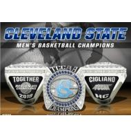 2019 Cleveland State University TCCAA Men's Basketball College Championship Ring, Presell