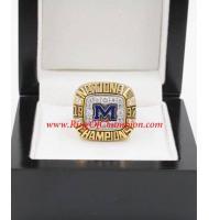 Big Ten 1997 Michigan State Spartans Football Rose Bowl College Championship Ring
