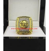 2009 - 2010 Florida State Seminoles Men's Football Gator Bowl College Championship Ring