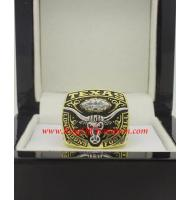 2007 Texas Longhorns Men's Football Holiday Bowl College championship ring