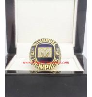 1989 Michigan Wolverin Basketball National College Championship ring