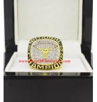 2002 Texas Longhorns Men's Baseball NCAA National College Championship Ring