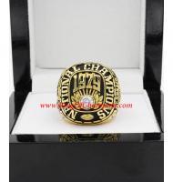1979 Alabama Crimson Tide NCAA Men's Football College Championship Ring,