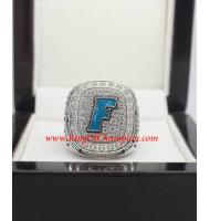 2014 Florida Gators Women's Softball World Series College Championship Ring