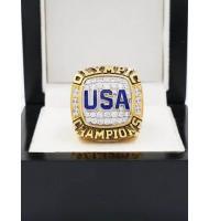 USA Dream Team 2016 Rio De Jeneiro Olympic Games Gold Medal Basketball World Championship Ring