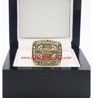 1996 Florida Gators Men's Football SEC National College Championship Ring