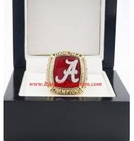 2009 Alabama Crimson Tide Men's Football SEC National College Championship Ring