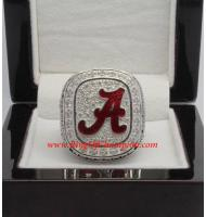 2012 Alabama Crimson Tide Men's Football SEC National College Championship Ring