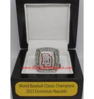 2013 Dominican Republic World Baseball Classic National Championship Ring