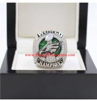 2017 Philadelphia Eagles Super Bowl LII Men's Football World Replica Championship Ring