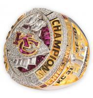 2019 Kansas City Chiefs Super Bowl LIV Men's Football World Replica Championship Ring--Presell