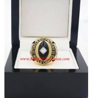 1962 Green Bay Packers Men's Football championship ring, Custom Green Bay Packers Champions Ring