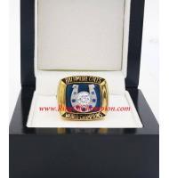 1970 Baltimore Colts Super Bowl V World Championship Ring, Replica Baltimore Colts Ring