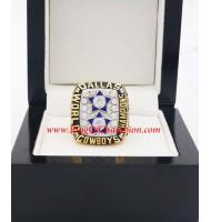 1977 Dallas Cowboys Super Bowl XII World Championship Ring, Replica Dallas Cowboys Ring