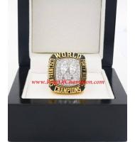 1984 San Francisco 49ers Super Bowl XIX World Championship Ring, Replica San Francisco 49ers Ring