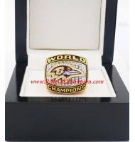 2000 Baltimore Ravens Super Bowl XXXV World Championship Ring, Replica Baltimore Ravens Ring