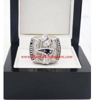 2003 New England Patriots Super Bowl XXXVIII World Championship Ring, Replica New England Patriots Ring