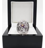 2012 Baltimore Ravens Super Bowl XLVII World Championship Ring, Replica Baltimore Ravens Ring
