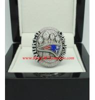 2014 New England Patriots Super Bowl XLIX Championship Ring, Custom New England Patriots Champions Ring
