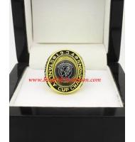 1933–34 Chicago Black Hawks Stanley Cup Championship Ring, Custom Chicago Blackhawks Champions Ring